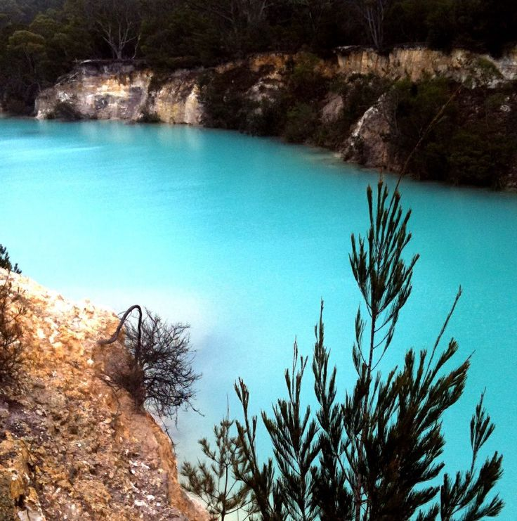Blue Lake Tasmania