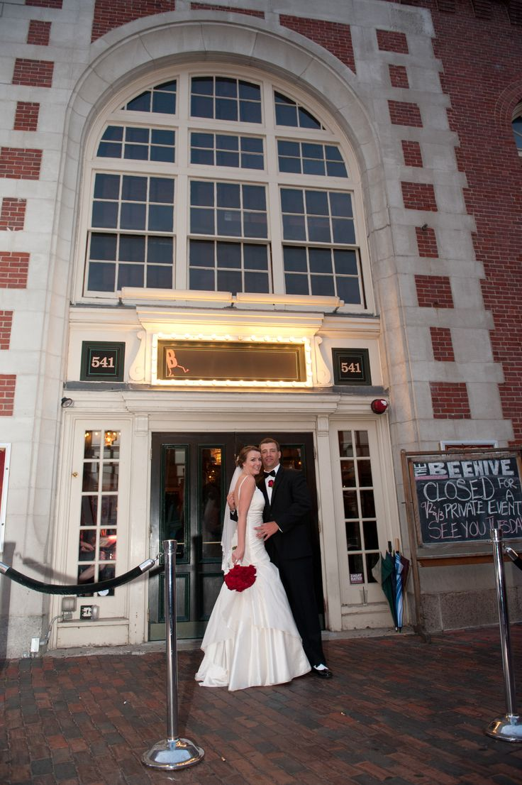 Bride and Groom Formal, Beehive Boston