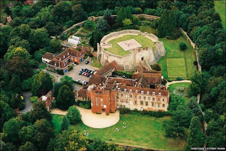 Farnham Castle, Surrey, England - Substantially intact