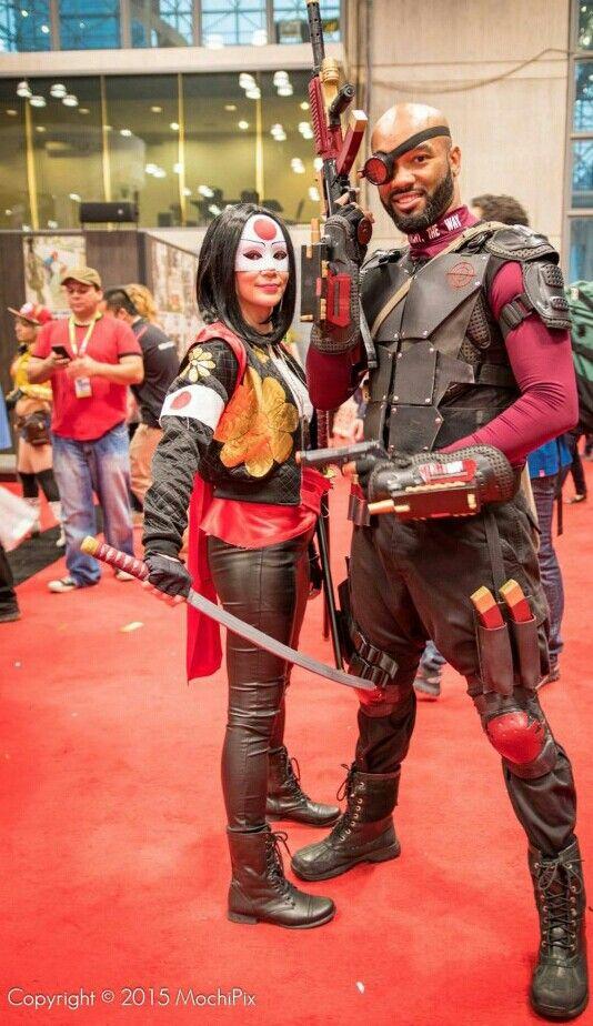 Deadshot and Katana cosplay                              …