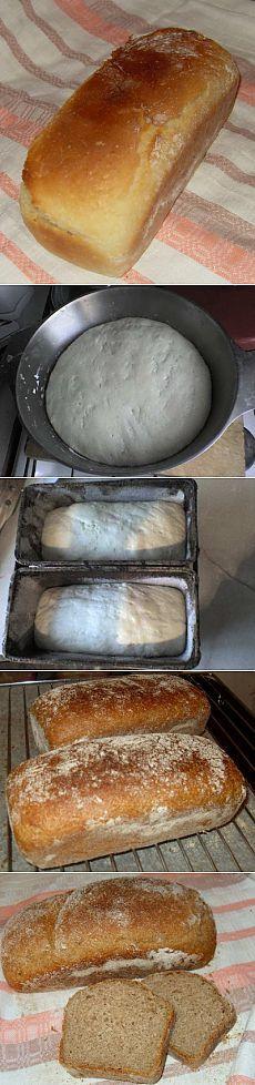 Хлеб домашний «на скорую руку» : Хлеб, батоны, багеты, чиабатта