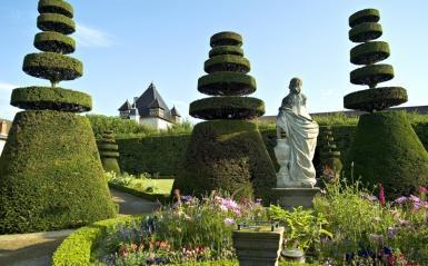 Garden at Chateau de Pizay