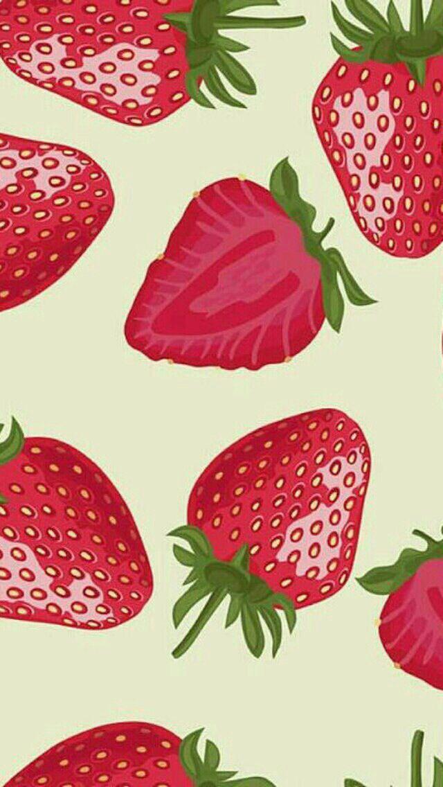 Strawberry background!