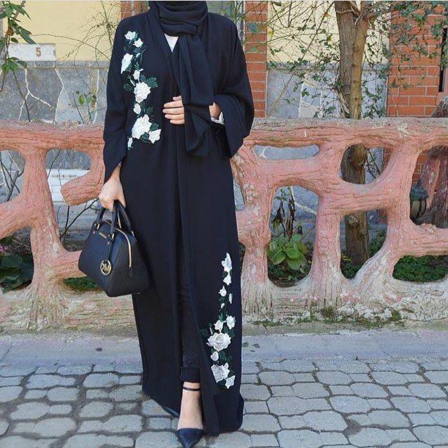 White Roses Abaya #EsteeAudra #abaya Bilgi ve sipariş için; 05346915810