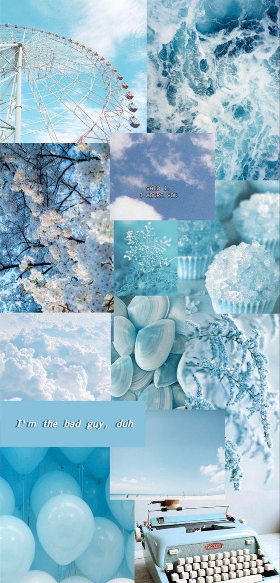 Pastel Blue Aesthetic Wallpaper Pastel Blue Background Blue Aesthetic Pastel Aesthetic Wallpapers Cool wallpapers blue aesthetic