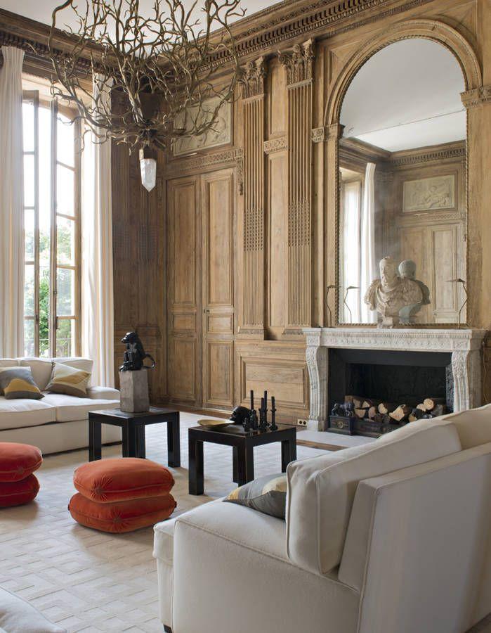 Un appartement entre esprit grand siècle et design des 70s elle décoration