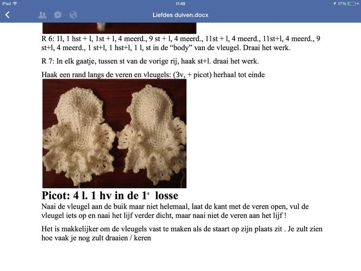 8 - Liefdes duifjes - vleugels