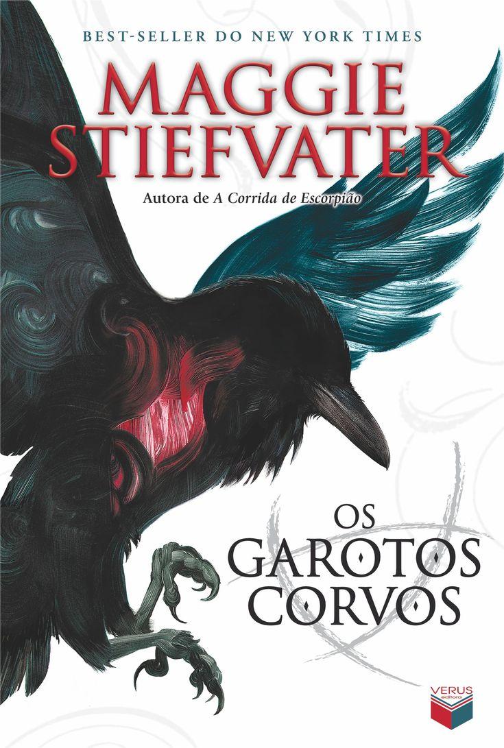"""""""Os garotos corvos"""", de Maggie Stiefvater."""