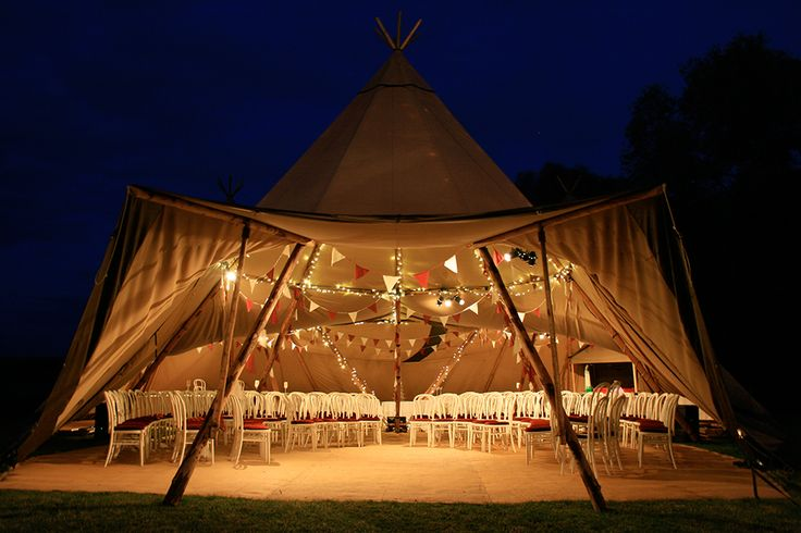 Giant Hat Tipi Tent | Meet our Tipi Tents