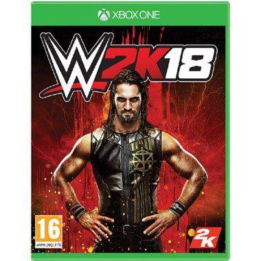 Xbox One WWE 2K18  Met stevige actie drama spanning gamemodi wedstrijdtypes aanpasmogelijkheden en alles waar je van bent gaan houden van WWE 2K brengt WWE 2K18 voor de Xbox One je dichterbij de ring dan ooit.  EUR 58.99  Meer informatie