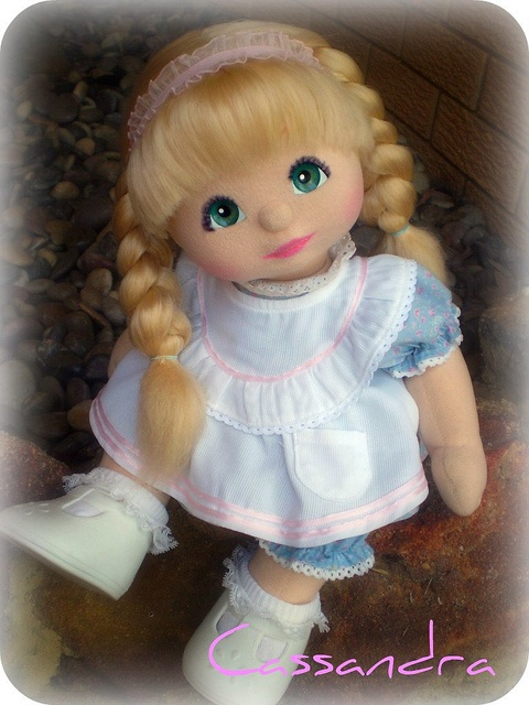 I first got one for Molly...Then years later I bought 3 for me :)  A vintage 1985 My Child Doll by Mattel