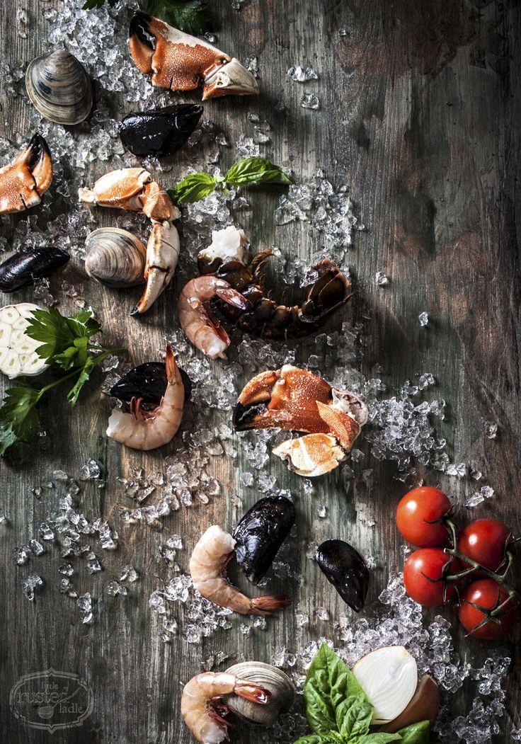 Cioppino Seafood Stew Soup Recipe | www.littlerustedladle.com | #foodphotography #foodstyling #cioppino