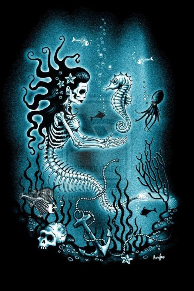 Mermaid's bones