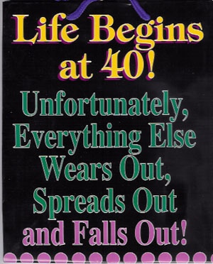 how to turn your life around at 40