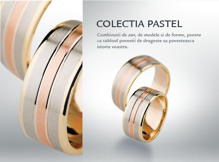 Pastel  Colectia de verighete si bijuterii de nunta by CORIOLAN #nunta #wedding
