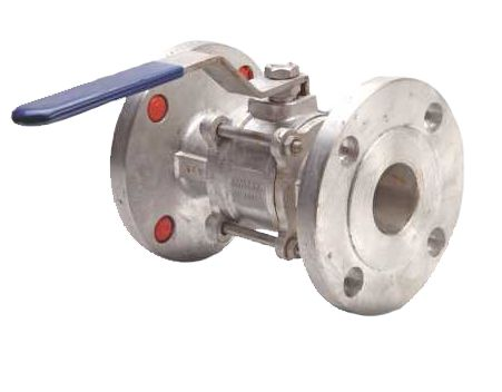 Stainless Steel ball valve flanged end