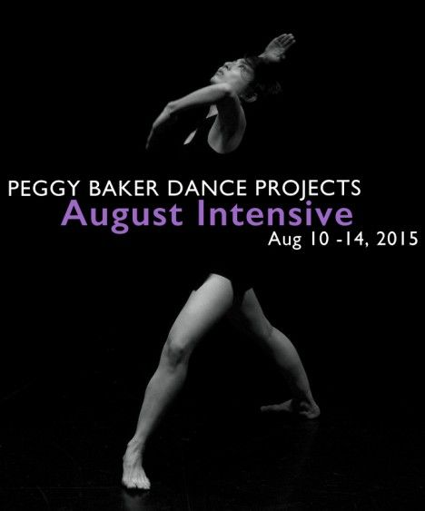 Peggy Baker Dance Projects  August Intensive