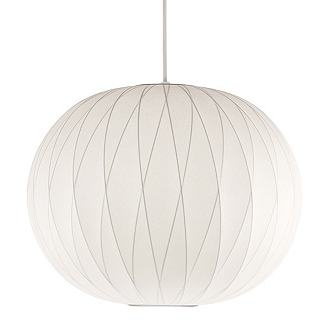 nelson crisscross ball pendant via design within reach, $359