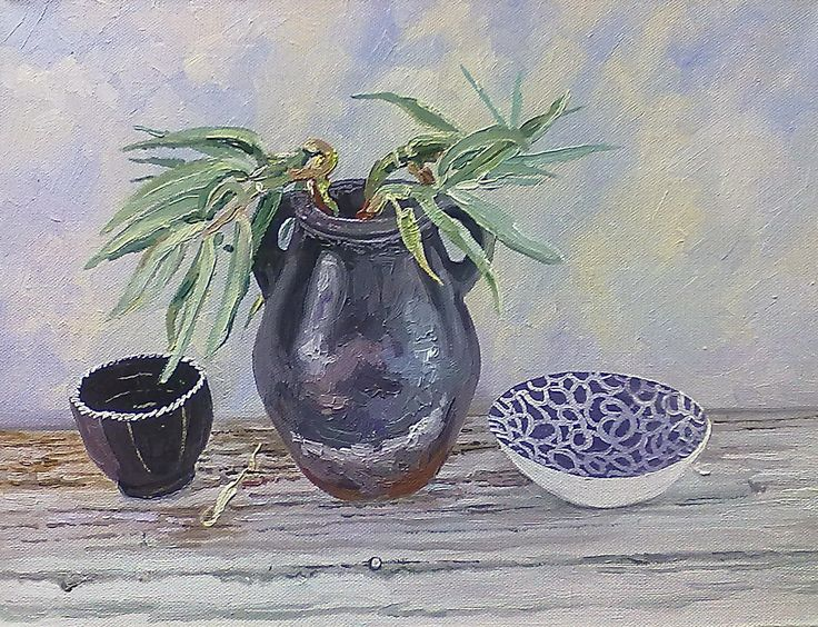 30 x 40 mm still life SOLD