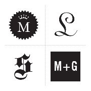 Make Your Own Monogram | Monogram Guide | Mark and Graham - use this for the little dish idea I pinned right before this!