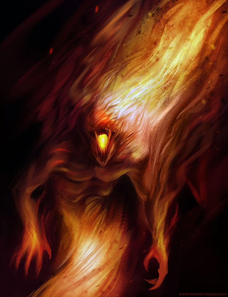 I really like the look of the fire that is coming away from this characters body. The way the textures blend makes the fire look quite dangerous. I would like to perhaps incorporate this feature into my own boss, however perhaps in patches as if fire was escaping from its body? Or maybe I could include it as an actual limb such as a single arm or a leg.