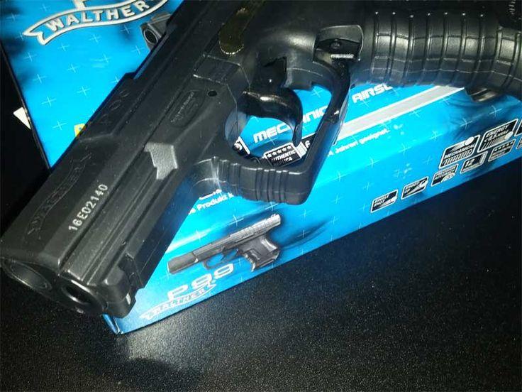 Walther P99 Umarex Pistolenlauf