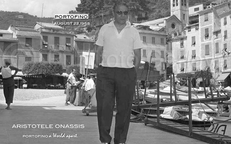 ARISTOTELE ONASSIS IN PORTOFINO (1955)