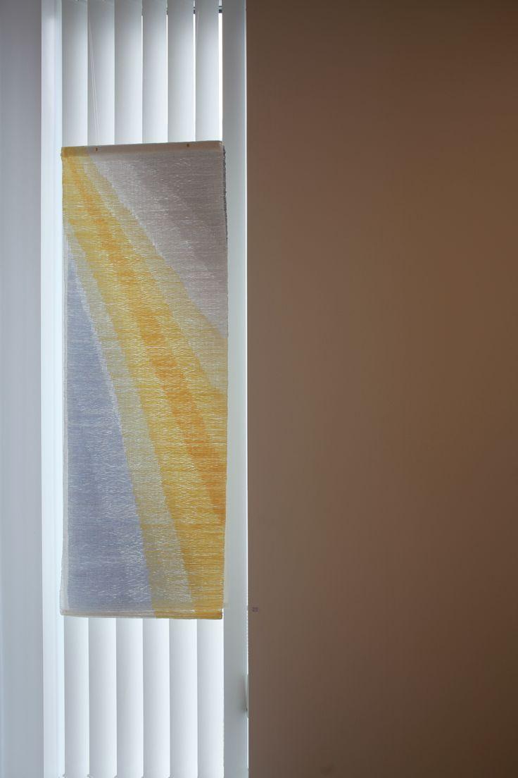 Solregn, lin, silke, to lag Moormanteknikk