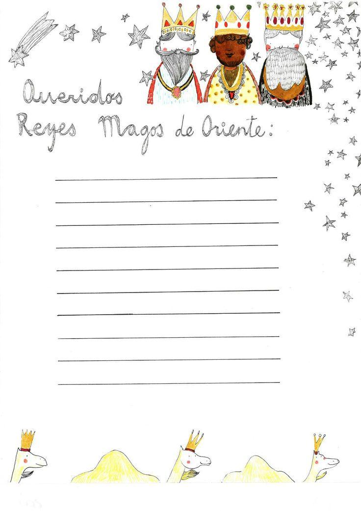 17 Best images about Cartas Reyes y Papa Noel on Pinterest
