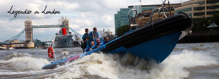 Bei einer abenteuerlichen Speedboat-Fahrt auf der Themse sehen Sie die wichtigsten Wahrzeichen der Stadt wie den London Tower, das London Eye und den Big Ben. 4 Tage im 4* Hotel inkl. Flug und Speedboat-Fahrt.