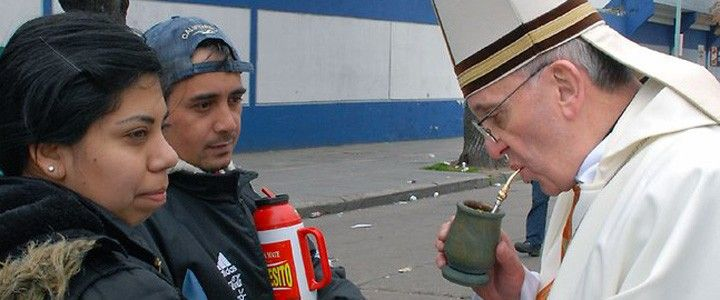 Papa Francesco, l'asado e la yerba mate | CipolleRosse.it