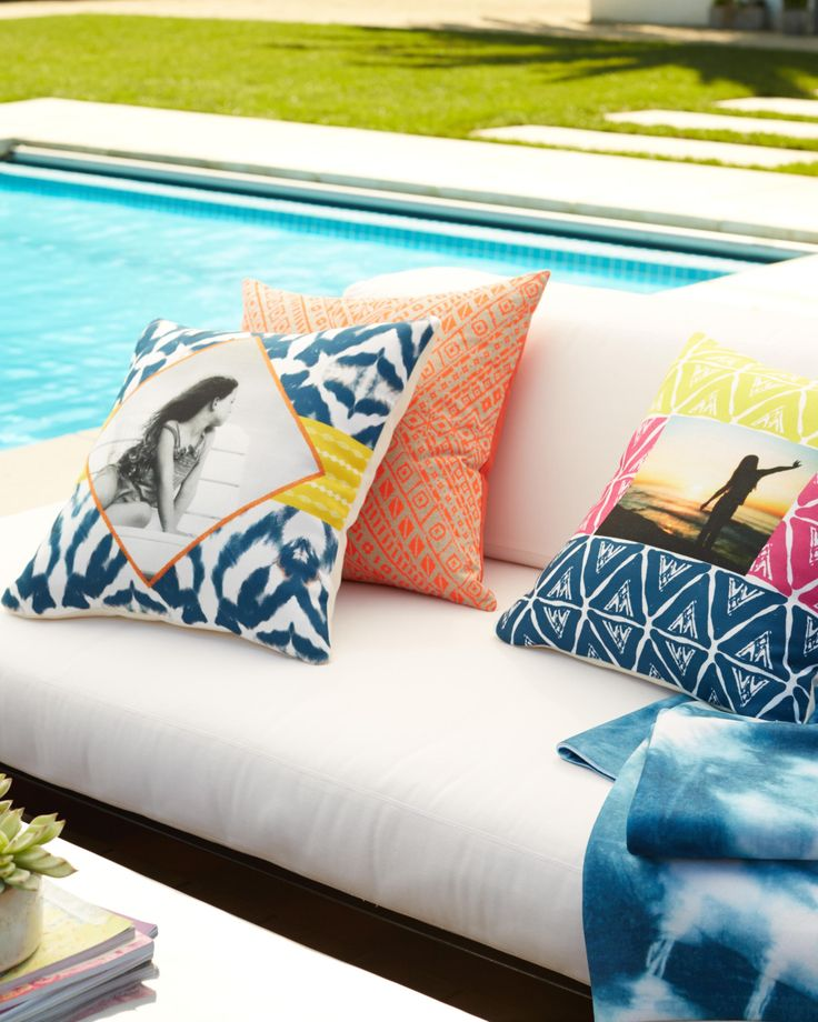 Introducing new outdoor pillows to brighten up your space this spring. Personalize your memories in unique ways with Shutterfly.