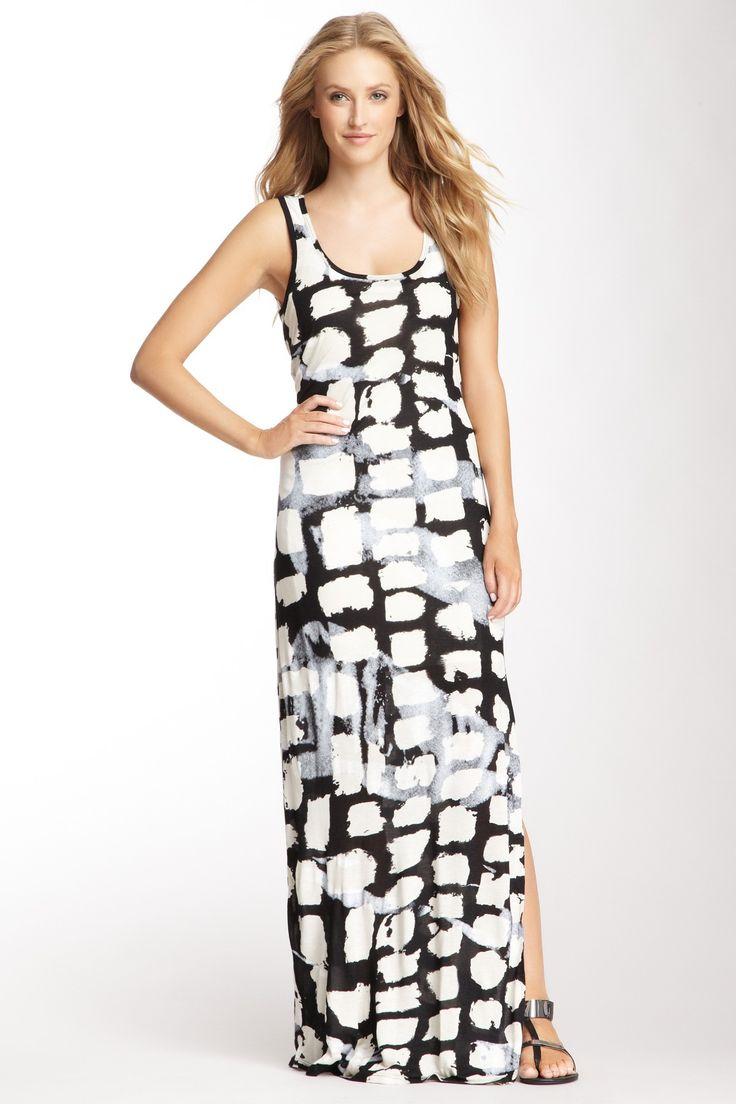 Michael Stars Cobblestone Print Maxi Dress On Hautelook Dream Date Outfit Pinterest Maxi