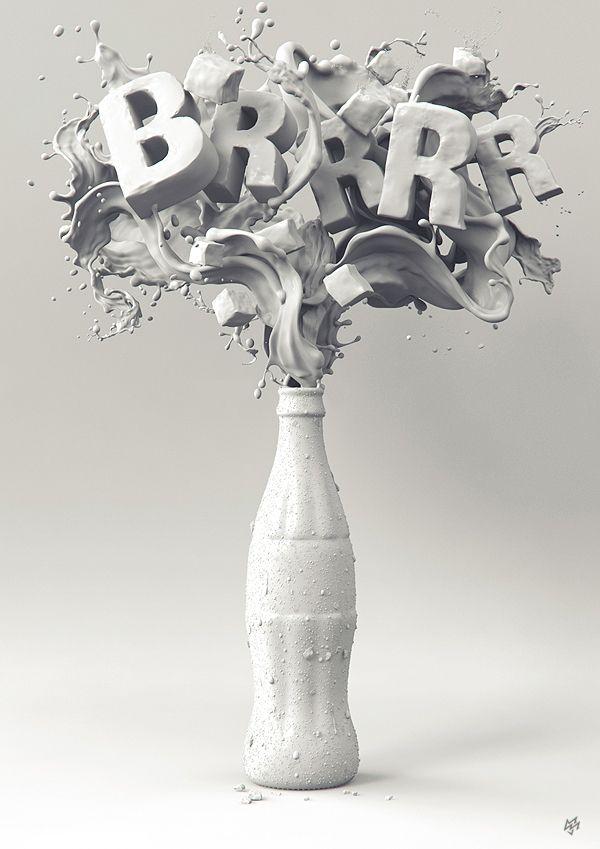 COKE BRRR by MMJ Studio , via Behance