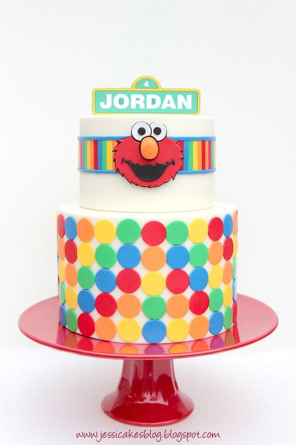 Elmo Cake Accessories : 17 Best ideas about Elmo Birthday Cake on Pinterest Elmo ...