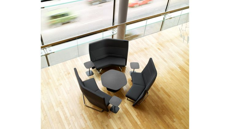 Keilhauer talk seating privacy panels library shelving furniture pinterest lounge - Library lounge chairs ...