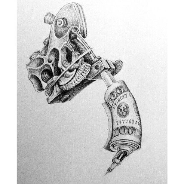 Tattoo Machien Etch Drawing: 16 Best Tattoomachine Images On Pinterest