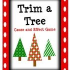 Free! Trim A Tree Cause and Effect Game.... determine cause and effect relationships.