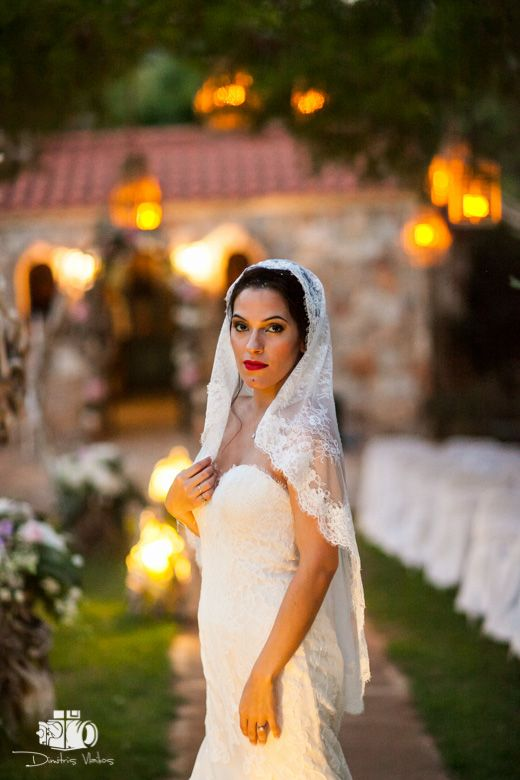 Oh! that #lace!  Bridal makeup by www.antigonilivieratou.com  Photo by www.aeginaphotographer.com