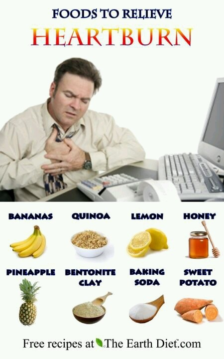 What Foods Are Good To Get Rid Of Heartburn
