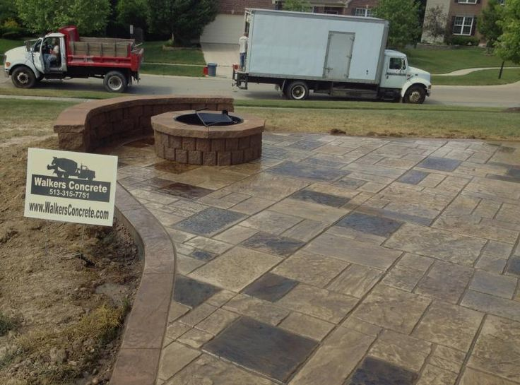 The 25+ Best Stamped Concrete Patios Ideas On Pinterest | Stamped Concrete,  Concrete Patio And Concrete Patios