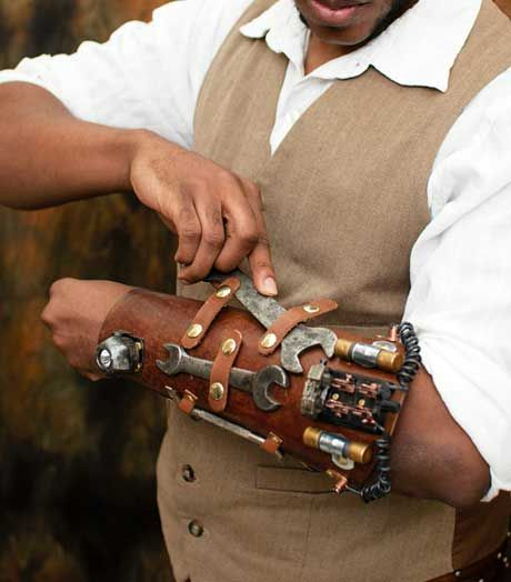 Airship Engineers Tool Bracer | Got - Steam? Steampunk Emporium