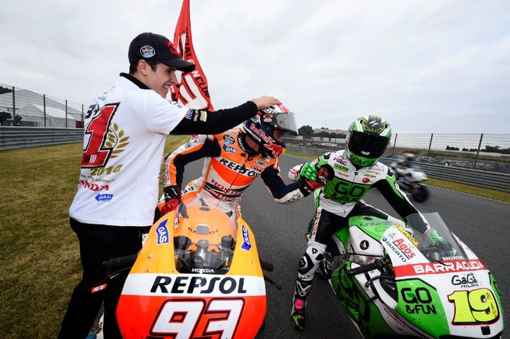 Marquez, Alex Marquez, Bautista, Japanese MotoGP Race 2014