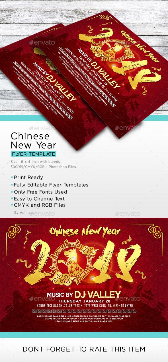 chinese new year events flyers