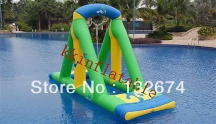 Water entertainment inflatable products water trampoline, inflatable swing
