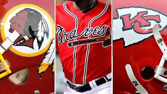 Redskins & Braves & Chiefs ~ honor or dishonor Native Americans? And it's not going to be easy telling the Kingston (Okla.) High School (57.7% Native American) Redskins that the name they've worn on their uniforms for 104 years has been a joke on them this whole time. Because they wear it with honor. Same story with Red Mesa (Ariz) HS Redskins. They wear the name with fierce pride. They absolutely don't see it as an insult. But what do they know? The student body is only 99.3% Native…