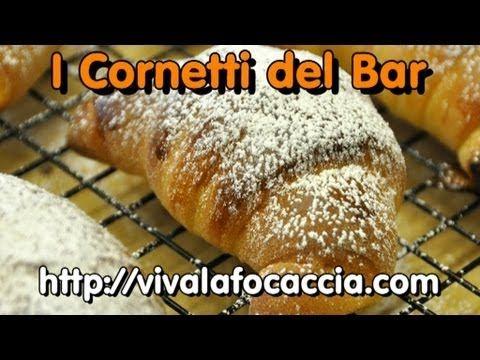 La Video Ricetta dei Cornetti da Bar di Pasta Brioche - YouTube
