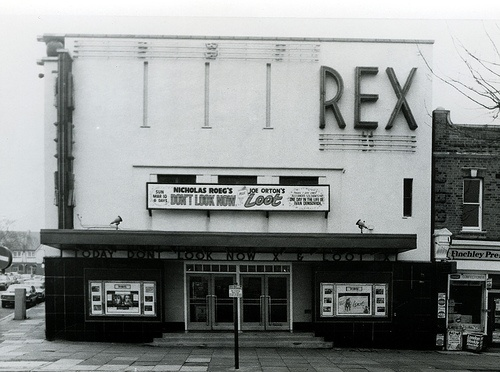 Rex Phoenix East Finchley 1974 - still open as an art house cinema