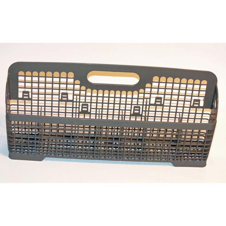 OEM KitchenAid Dishwasher Silverware Utensil Basket Bin Originally Shipped With KUDI01ILWH2, KUDI02IRBL1, KUDI02CRWH0, Multi