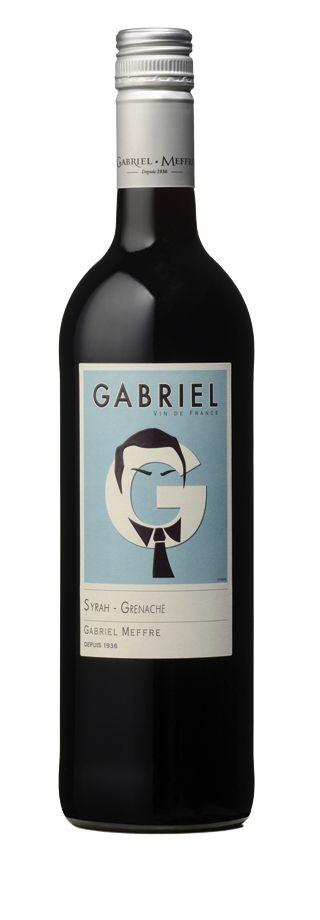 Vin de la gamme Gabriel - Syrah-Grenache - Rouge - 2015 | Gabriel Meffre